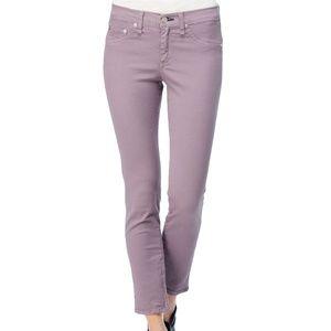 Rag & Bone Zipper Capri Jeans Lilac